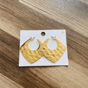 5/$35 NWT Hammered Earrings